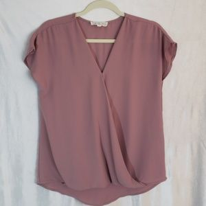 Small Pink Rose Blouse